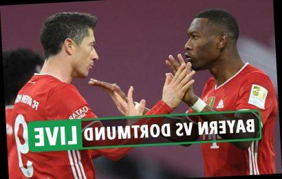 Bayern Munich 4 Dortmund 2 LIVE REACTION: Haaland double not enough as Lewandowski hat-trick inspires brilliant comeback