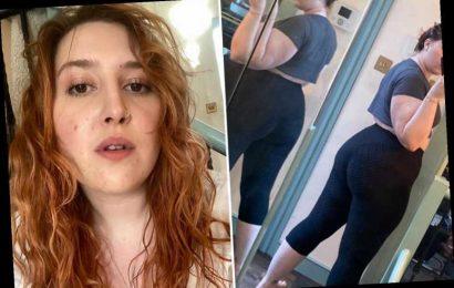 Jonathan Ross's daughter Honey takes 'booty snap' in gym leggings