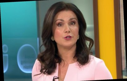 Susanna Reid missing from Good Morning Britain and replaced by Kate Garraway after being in tears over Piers Morgan exit