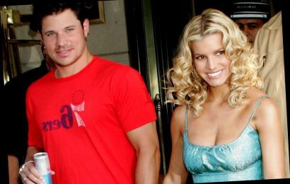 When was Jessica Simpson married to Nick Lachey?