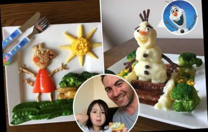 Vegetables have never looked so tasty thanks to this dad's fantastic creations