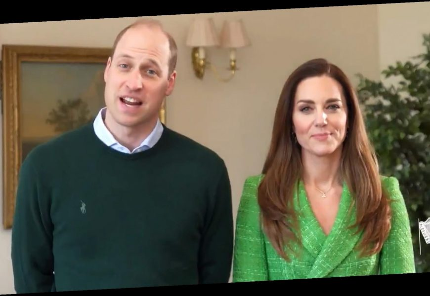 Kate Middleton Is Festive in Green and Prince William Speaks Irish in Candid St. Patrick's Day Message