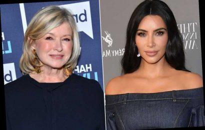 Kim Kardashian Fangirled When Martha Stewart Told Her She Loves SKIMS: 'Such a Proud Moment'