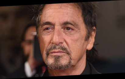Al Pacino Looked Barely Recognizable At The Golden Globes