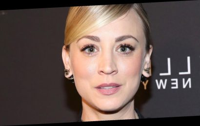 Here's How Kaley Cuoco Handled Losing At The Golden Globes