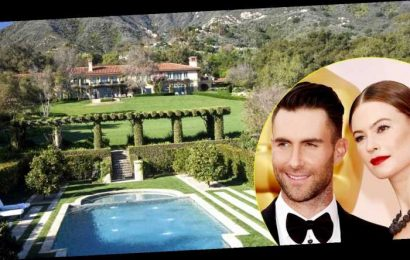 Look Inside Adam Levine's Amazing New $22.7 Million Mansion in California's Exclusive Montecito Neighborhood