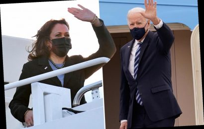 Biden and Harris DON'T need to follow CDC travel rules despite Covid because they fly private, WH Press Sec Psaki says