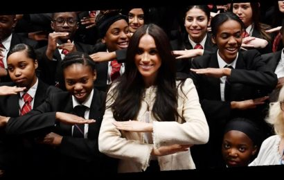 Meghan Markle Writes Letter To UK School She Visited During One Of Her Last Royal Functions