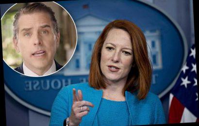 Psaki says she never heard claim Hunter Biden got $3.5M from wife of ex-Moscow mayor