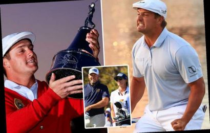 Tearful Bryson DeChambeau thanks Tiger Woods after beating Lee Westwood by one shot to Arnold Palmer Invitational title