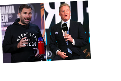 Eddie Hearn insists he DID have Tyson Fury's blessing to announce Anthony Joshua fight as he hits back at Frank Warren