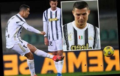 Cristiano Ronaldo's dreadful Juventus free-kick record revealed with club scoring more from set-pieces before transfer