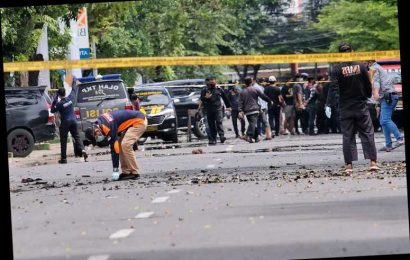 Suicide bomb hits Palm Sunday Mass in Indonesia, 14 wounded