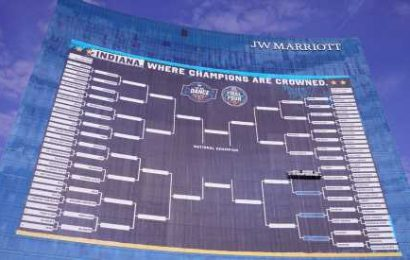 In Indianapolis, Checking the Bracket Means Looking Up