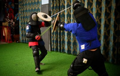 For The Love Of The Game: Fancy a sword fight a la Lord Of The Rings? Here's where you can go
