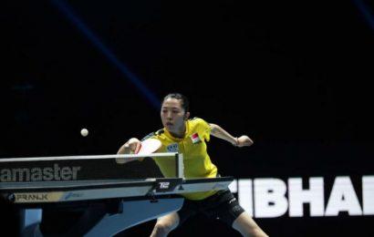Table tennis: Singapore's Yu Mengyu stuns Japanese starlet Miu Hirano in Doha