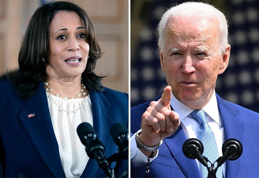 Biden defends Kamala Harris' inaction in border crisis and claims she 'speaks truth' as Schumer insists VP is 'capable'