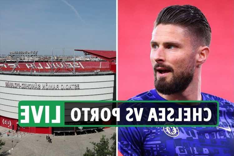 Chelsea vs Porto LIVE: Stream FREE, TV channel, kick-off time, team news for TONIGHT'S Champions League quarter-final