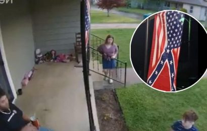 Confederate Flag Owner Gets Schooled by Neighborhood Child on Racism