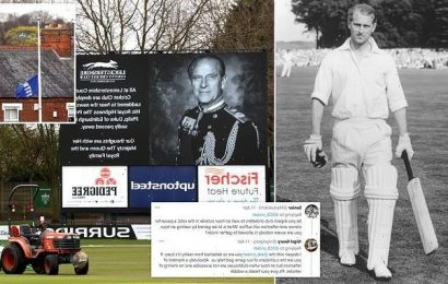 Cricket clubs are refusing to stop matches Prince Philip's funeral