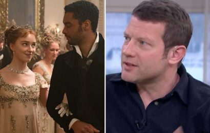 Dermot O'Leary reveals his secret connection to Bridgerton – saying he knows what happens next