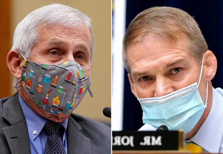 Dr. Fauci, Rep. Jordan clash on post-COVID reopening