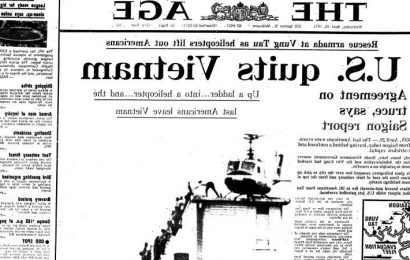 From the Archives, 1973: U.S. quits Vietnam as Saigon teeters