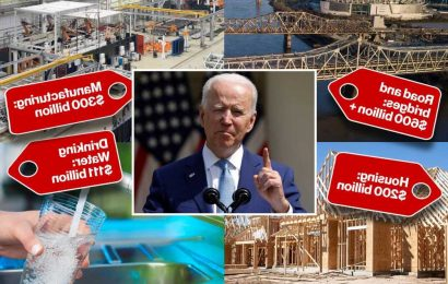 GOP says Biden's $2T infrastructure plan will 'create slush funds' for Democrats