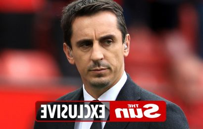 Gary Neville raking in £20k a month after purchasing four Georgian townhouses