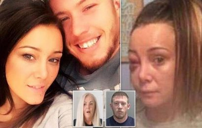 Hairdresser reveals howmother-of-two 'collapsed into her arms'