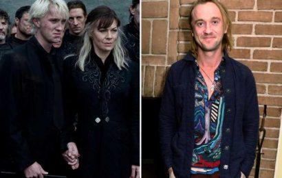 Harry Potter star Tom Felton pays heartbreaking tribute ot onscreen mum Helen McCrory