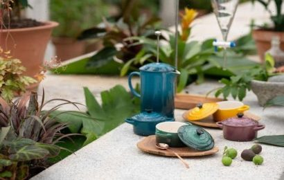 Le Creuset launch new Botanique collection – with items from £27 and up