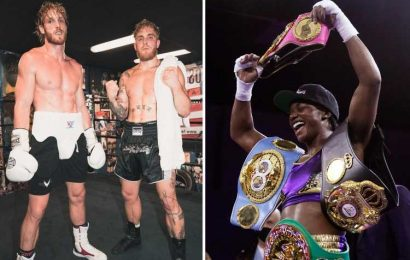 Logan and Jake Paul are 'clowns' and I'd 'whoop their a** easily as they're NOT real boxers', claims Claressa Shields