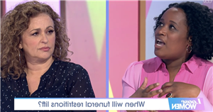 Loose Women fans fume about spelling blunder during Prince Philip discussion