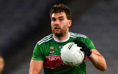 Mayo sweating on Aidan O'Shea fitness after he sustained a knee injury upon intercounty training return