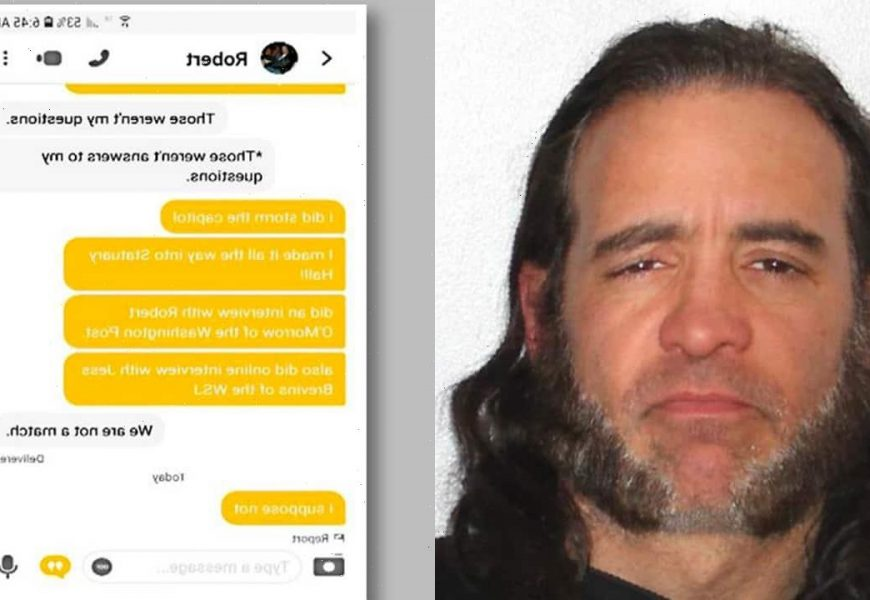 NY man bragged about Capitol riot on Bumble; his match turned him in