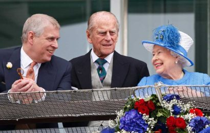 Prince Andrew says Prince Philip's death has 'left a huge void' for the Queen