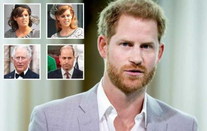 Prince Harry contacts William, Charles, Beatrice and Eugenie to 'park any disputes' before Prince Philip's funeral