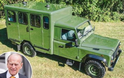 Prince Philip will be laid to rest on modified Land Rover he helped design as part of funeral procession