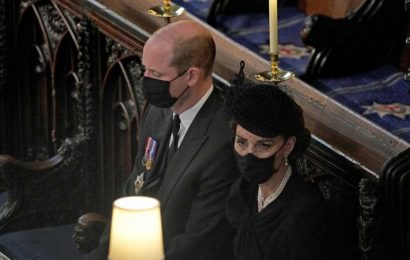 Prince William, Kate Middleton honor 'devoted consort' Prince Philip after funeral