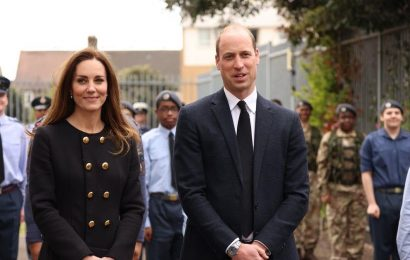 Prince William and Kate Middleton step out as the Queen gives special permission for visit to honour Prince Philip