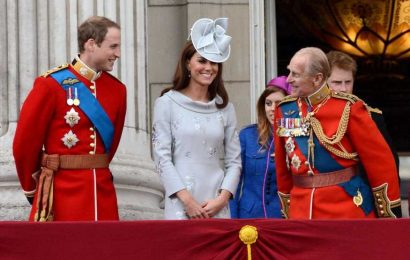 Prince William and Kate vow to 'get on with the job' like Philip wanted and 'support the Queen in years ahead'