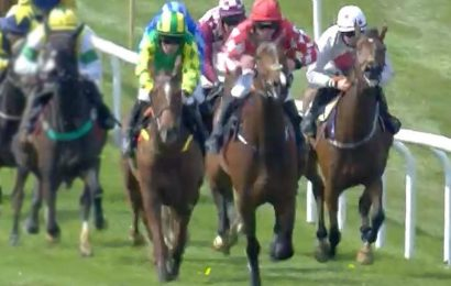 Punters fuming as winning racehorse is controversially demoted to second after 'bonkers' investigation