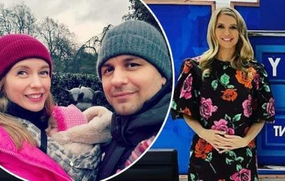 Rachel Riley is PREGNANT with second child with husband Pasha Kovalev
