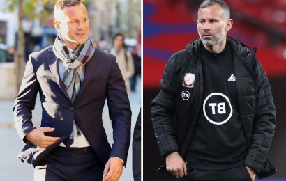 Ryan Giggs to miss Euro 2020 confirm Wales after Man Utd icon charged with assault and coercive control of ex-girlfriend
