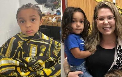 Teen Mom Kailyn Lowry shares a sweet video with son Lux after being slammed by fans for giving the 3-year-old cornrows