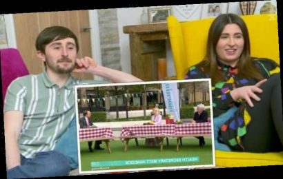 'Can't ask him that' Holly Willoughby under fire from Gogglebox cast for Hancock grilling