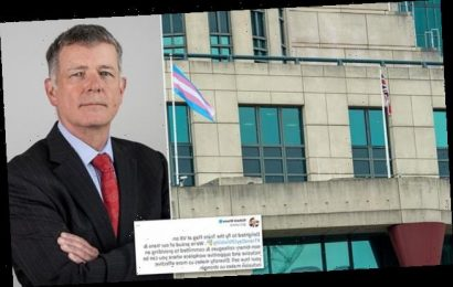 MI6 flies the transgender flag at its HQ for the first time
