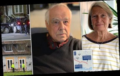 One of UK's richest men, 83, is stabbed to death at his £2m mansion