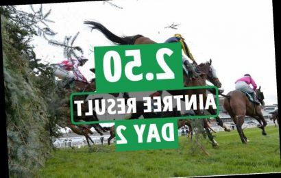2.50 Aintree 2021 result – day 2: Who won Novices' Chase? How every horse finished at Grand National Festival race